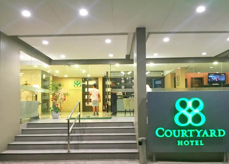 88 courtyard lobby