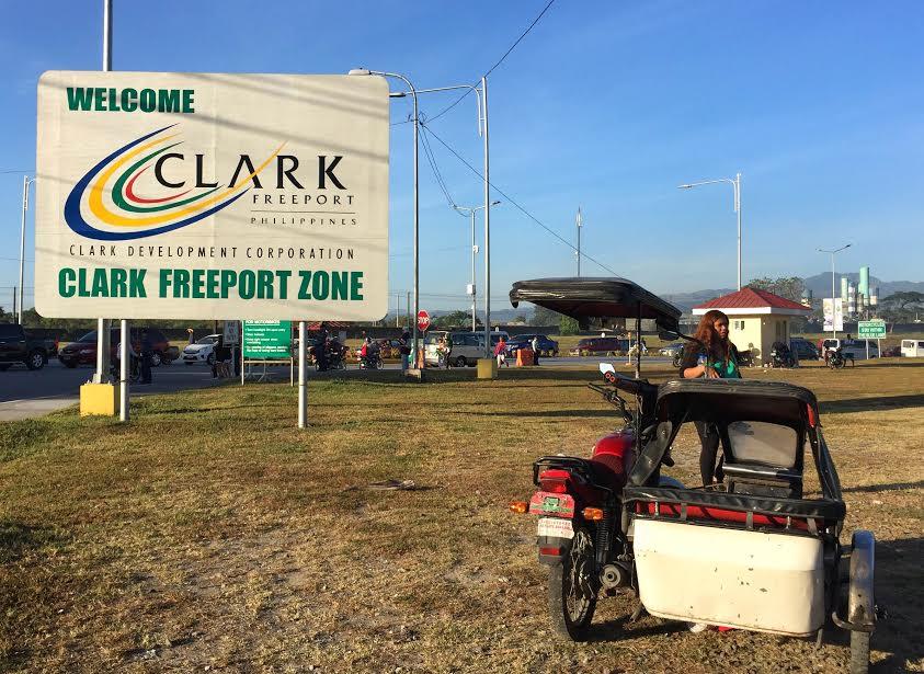 clark free port zone