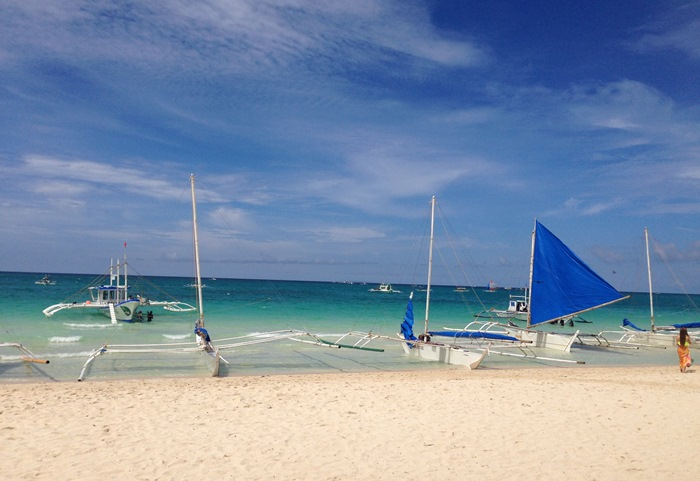 White Beach in Boracay, Philippines