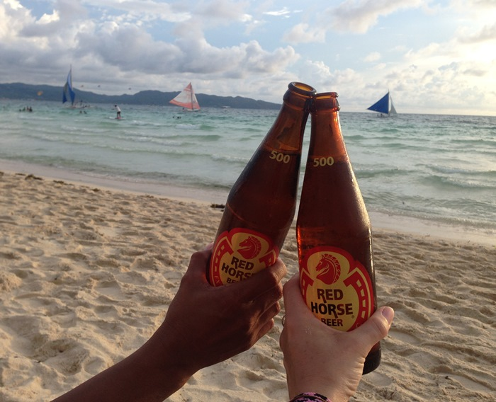 Red Horse beer, Boracay, Philippines