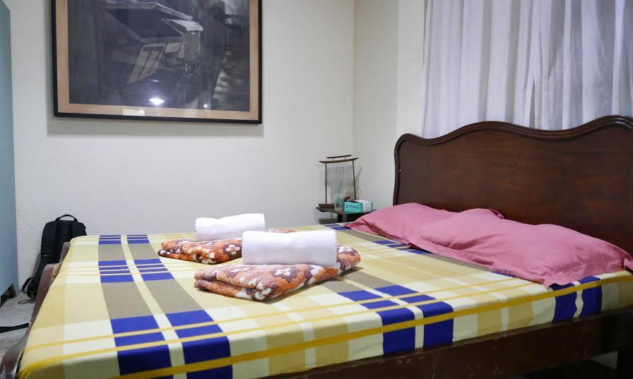 Casa San Pablo bed