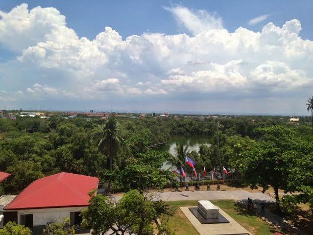 Emilio Aguinaldo Shrine garden