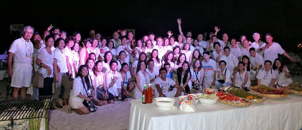 White Party at Santiago Bay