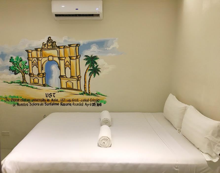 tambayan hostel room