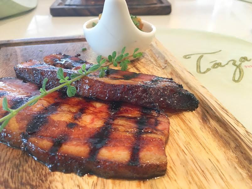 Homemade porkchop