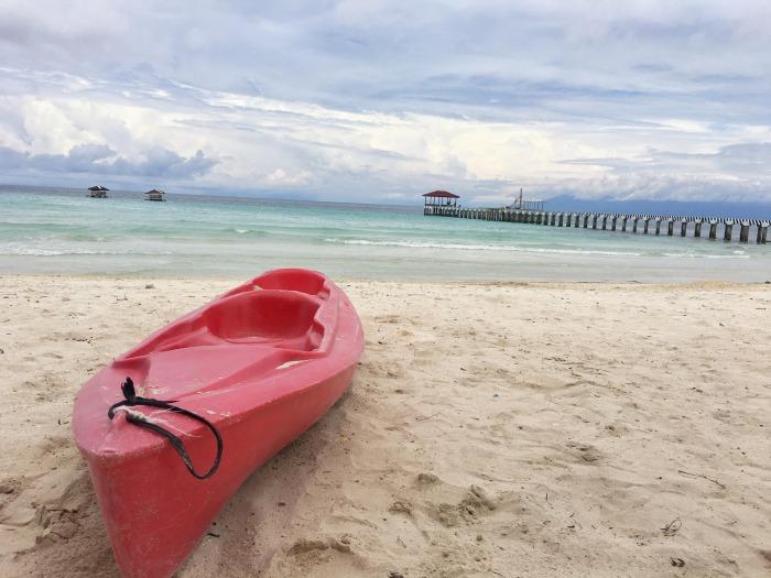 white beach basilan