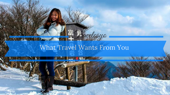 why do you travel