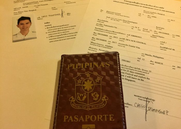 Philippine Passport Holder? Here's How to Extend Your Tourist Visa in Thailand