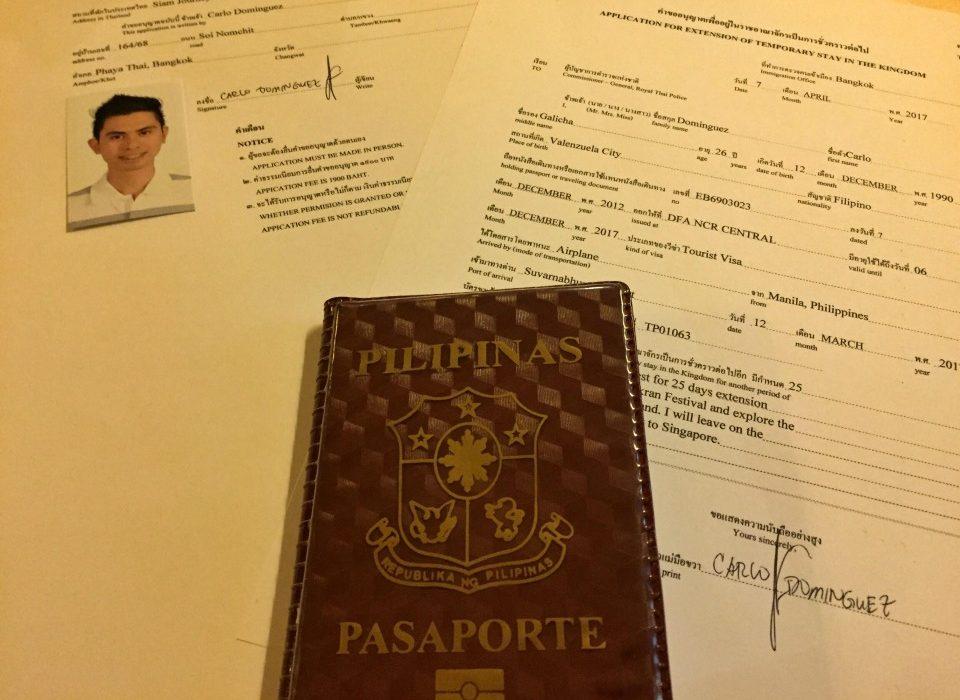 Thailand Visa Extension