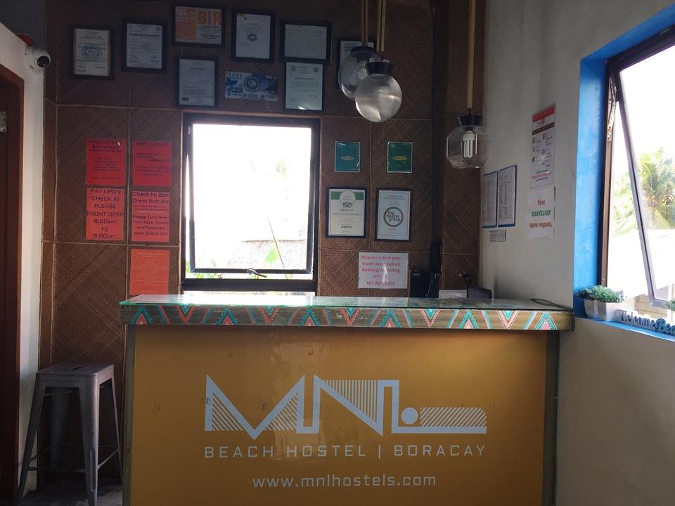 MNL Beach hostel