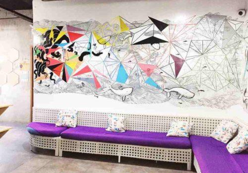 artsy Hostel