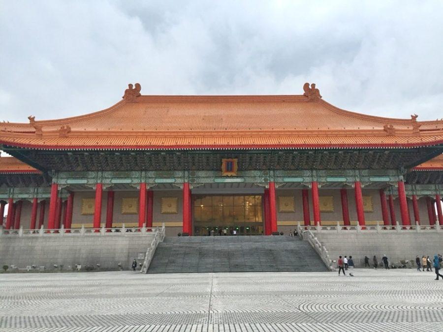 Chiang Kai-Shek Memorial Hall.