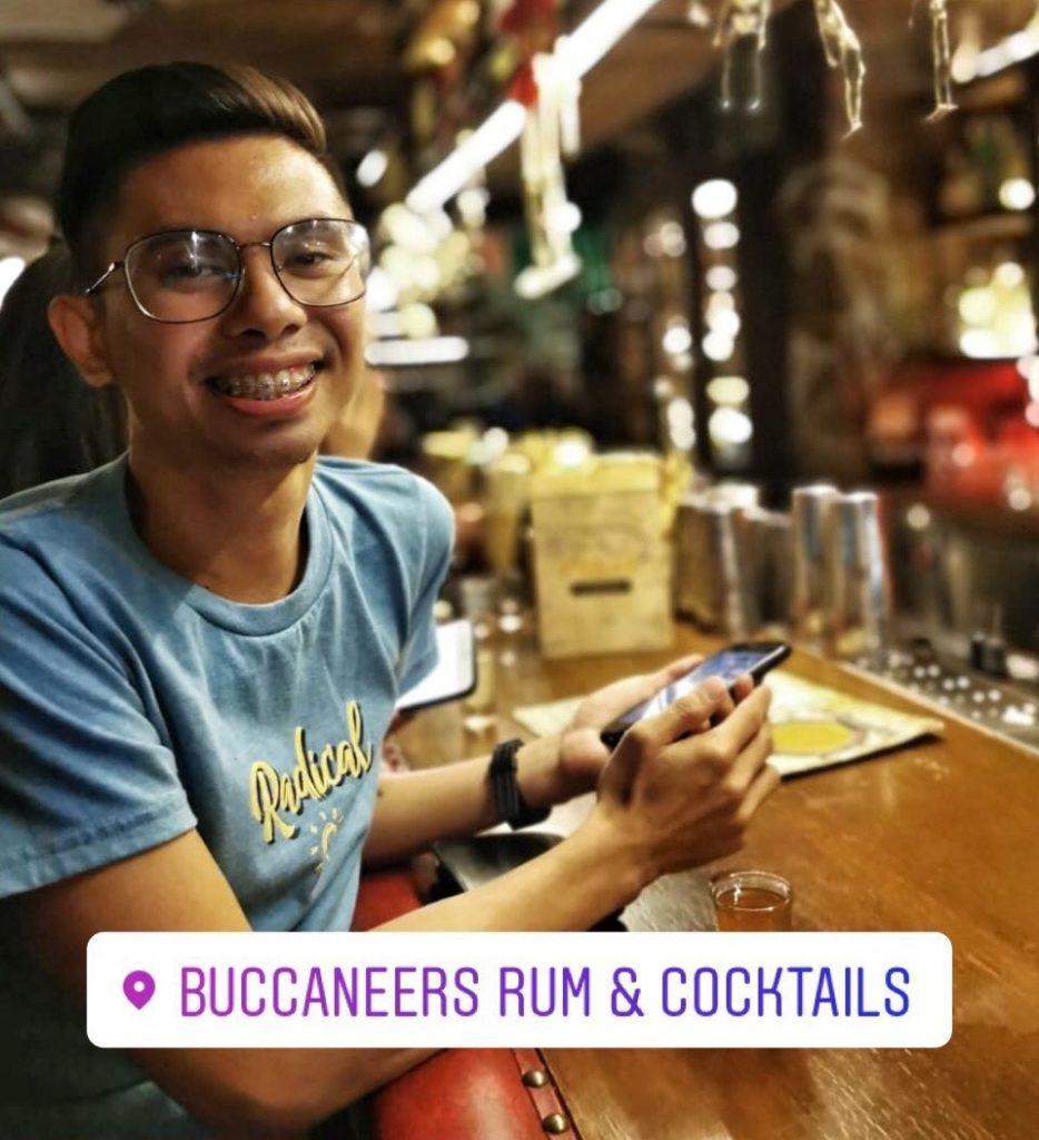 Buccaneers Rum & Cocktails.